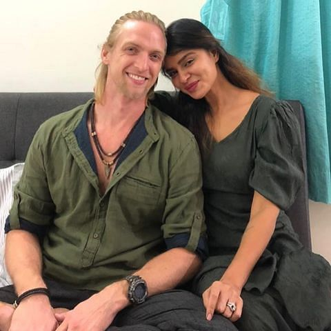Aashka Goradia, husband Brent Goble test positive for COVID-19, actor says 'new strain is a nasty and sly devil'
