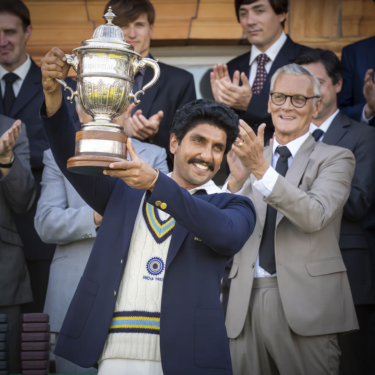 Ranveer Singh as Kapil Dev in '83