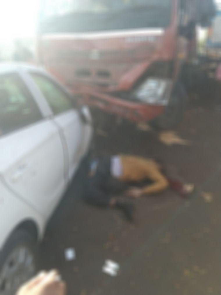 Ambernath: Police rammed by speeding truck succumbs to injuries
