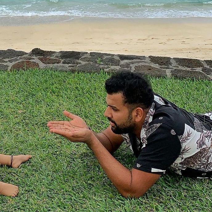 Rohit Sharma Birthday Special: Doting dad moments with daughter Samaira