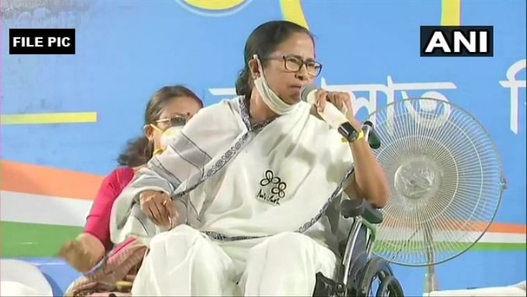 'Hold remaining Bengal phases in one go': Mamata Banerjee urges EC amid spurt in COVID-19 cases