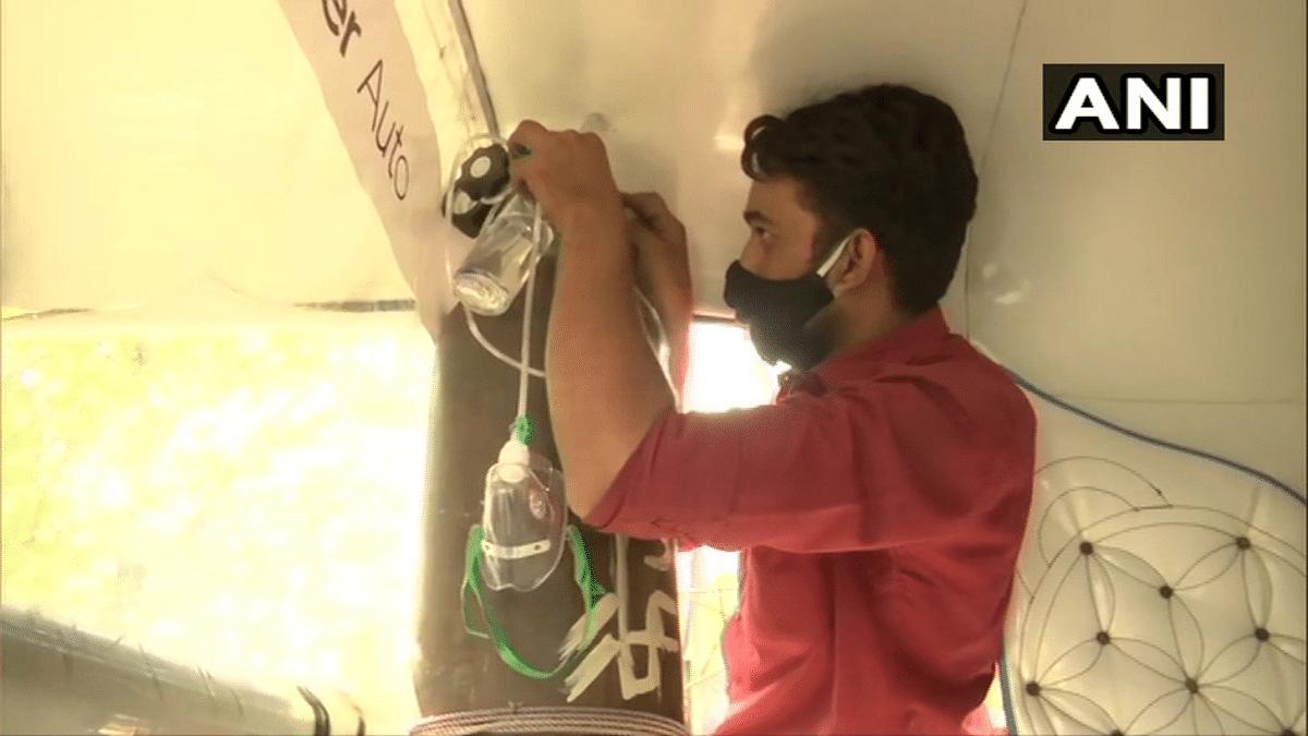 VIRAL: Bhopal man converts his autorickshaw into ambulance to help COVID-19 patients; Twitterati salutes