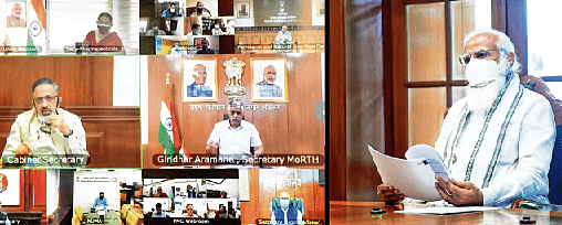 Need to work rapidly to boost oxygen production: PM Modi