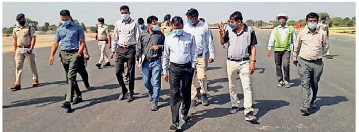 Ratlam district collector Gopalchandra Dad, officials reviewed preparations on Monday