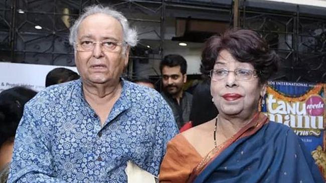 Soumitra Chatterjee's wife Deepa dies at Kolkata hospital