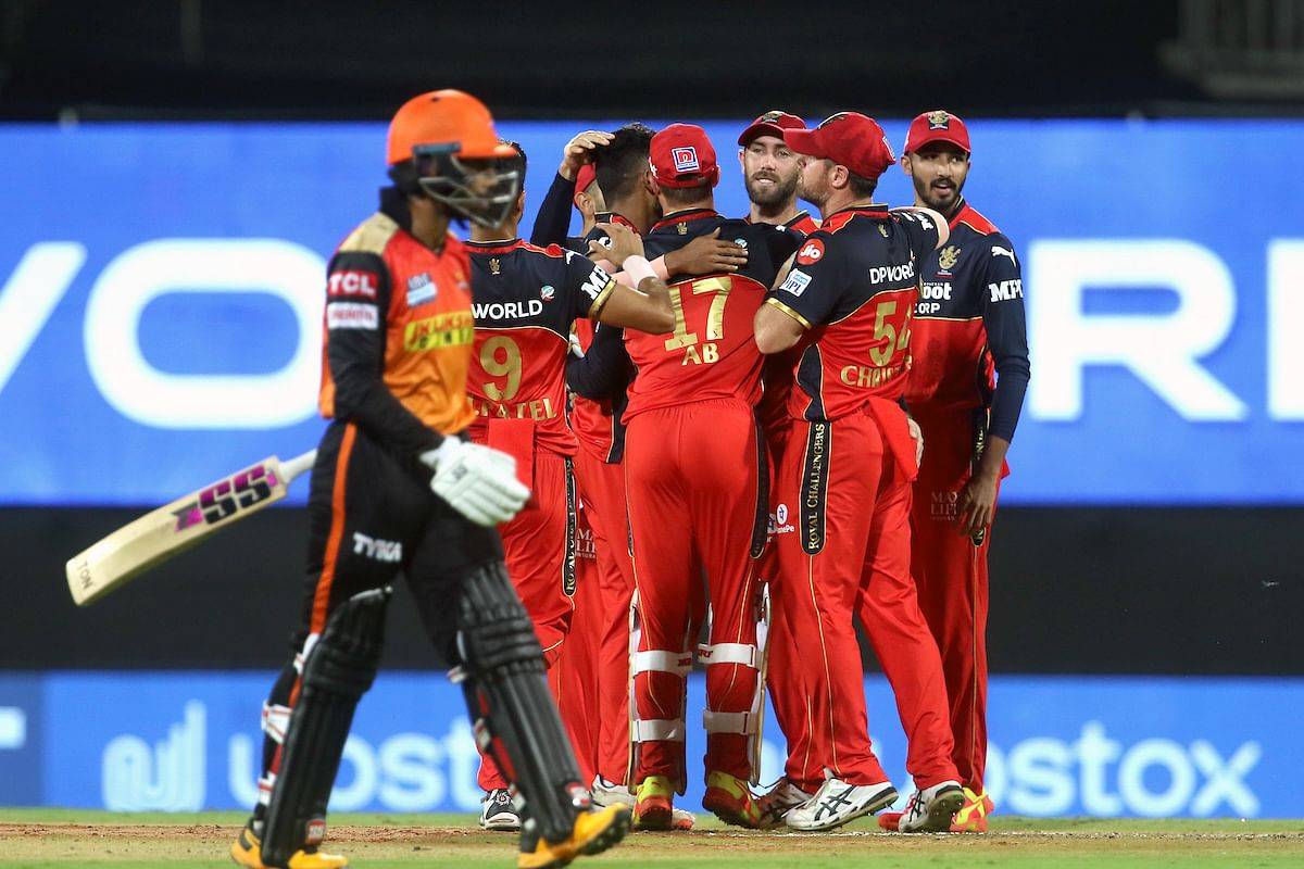 IPL 2021: Check out the points table after Royal Challengers Bangalore vs SunRisers Hyderabad clash