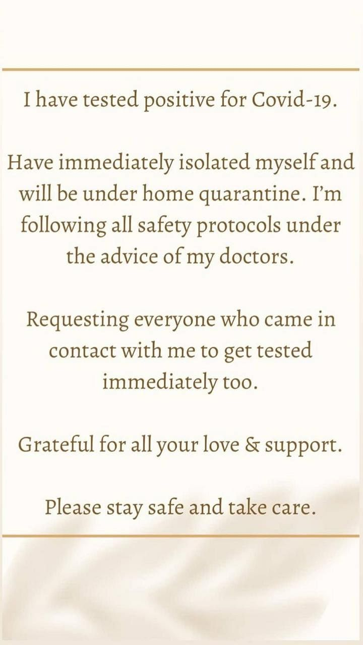 Katrina Kaif tests positive for COVID-19 after rumoured boyfriend Vicky Kaushal; under home quarantine