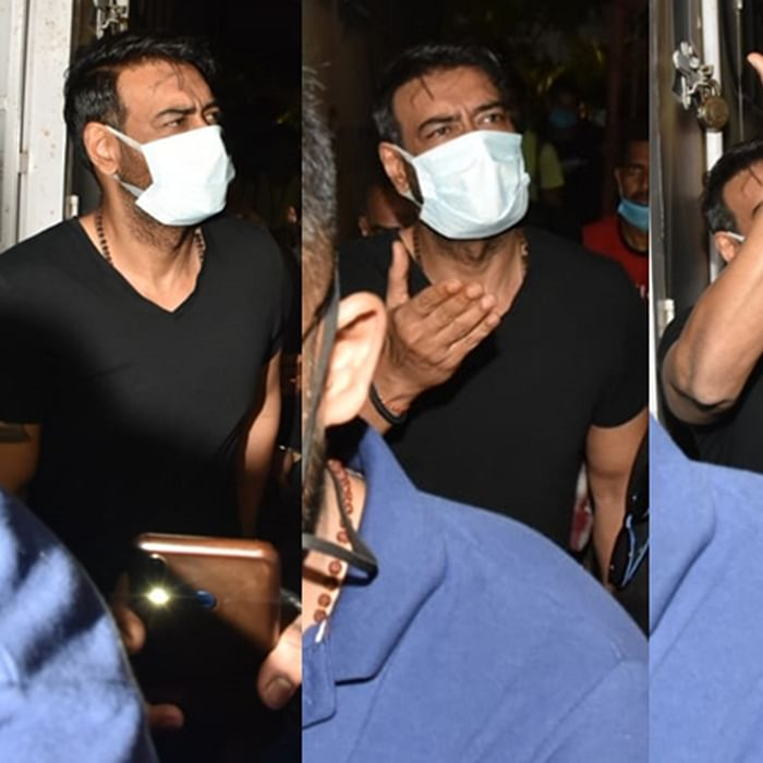 'Mask pehen': Ajay Devgn schools paparazzi for hounding him after shoot – watch video