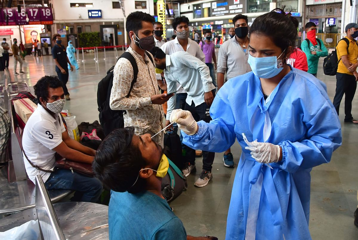 Mumbai reports 8,839 new COVID-19 cases, 53 deaths on April 16