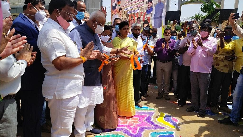 New Railway Station building at Davangere inaugurated