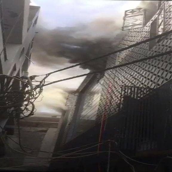 Fire breaks out in factory near Delhi's Damodar Park, 15 fire tenders rushed to spot