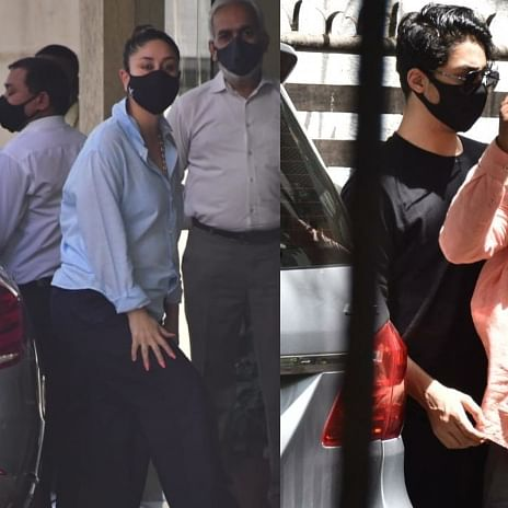Paparazzi Files: Aryan Khan, Kareena Kapoor Khan, Shraddha Kapoor and others spotted in Mumbai