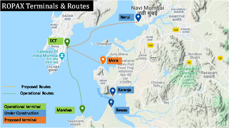 Soon, 4 new routes for ROPAXferry and 12 for water taxis