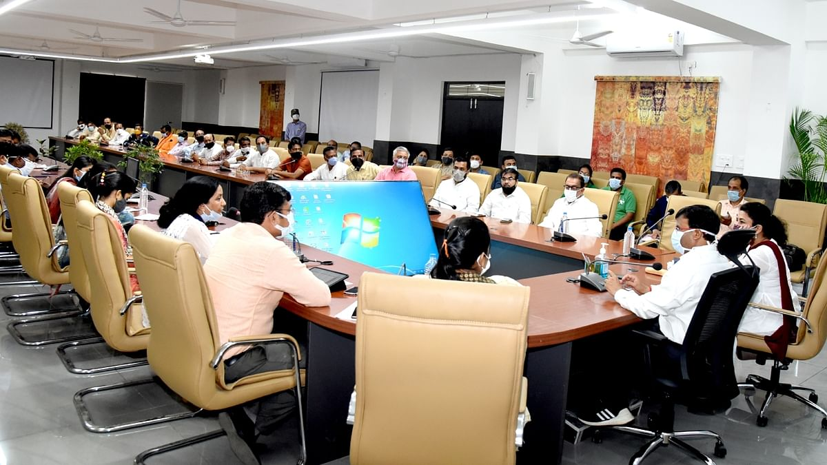 Meeting of local administration underway