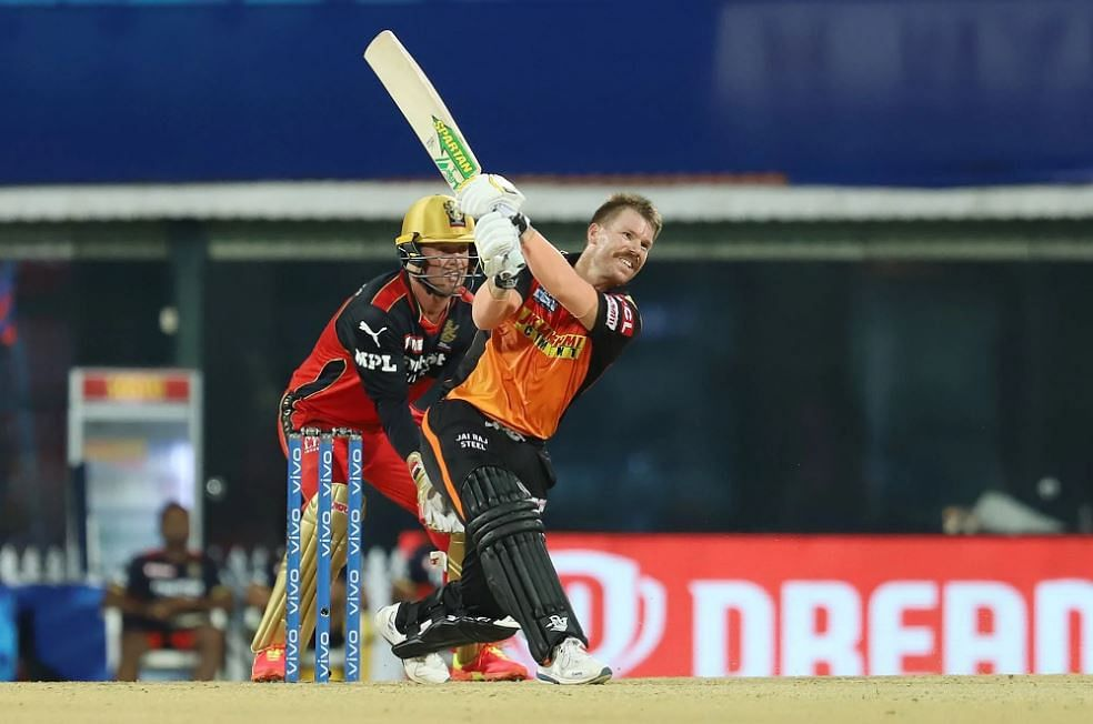 IPL 2021 Live Score: RCB vs SRH - SRH 108-2 in 15 overs; Warner and Pandey get a move on after Siraj keeps SRH on toes; Maxwell scores first fifty in 5 years