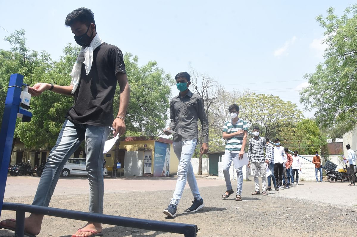 Madhya Pradesh: Corona casts its shadow over UPSC exams, only 30% aspirants appear for prelims