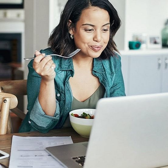 Mindful eating in times of work from home