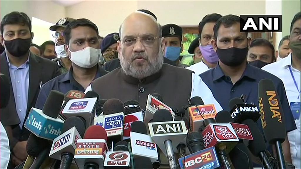 'Govt determined to end Naxal menace': Amit Shah sounds stern warning after Chhattisgarh naxal attack