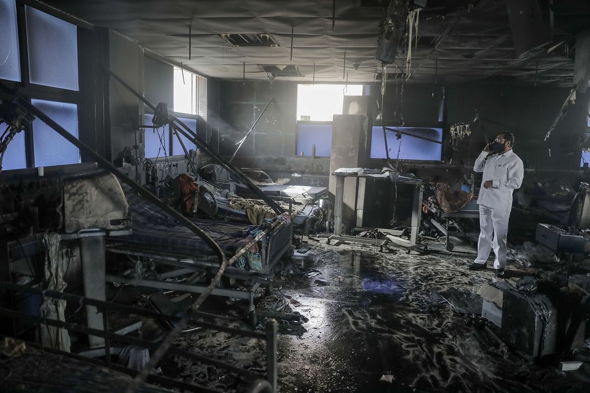 Maha govt directs DGP to probe conspiracy angle behind fire, oxygen leakage incidents