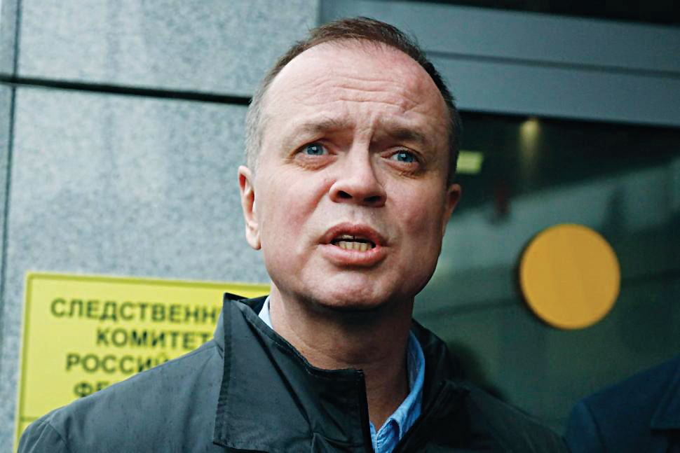 Lawyer representing Navalny's foundation detained in Moscow