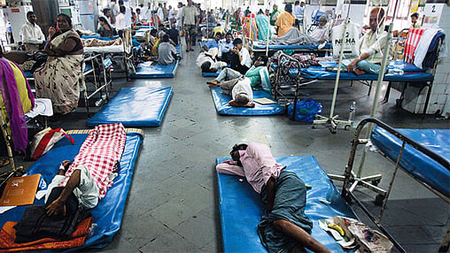 Bhopal: Lack of room in hospitals puts patients in jeopardy