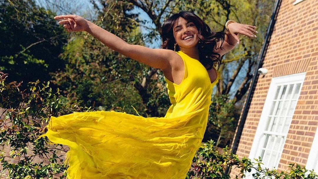Priyanka Chopra wears Rs 4.4 lakh maxi dress to enjoy some sunshine in London