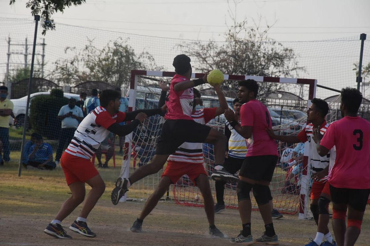 Handball match on Thursday