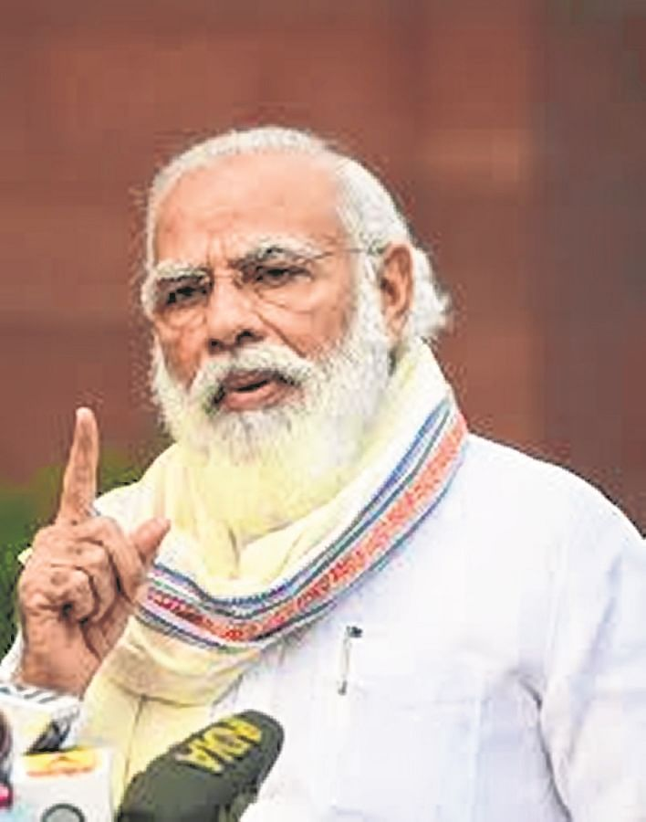 Modi to address party workers on BJP foundation day