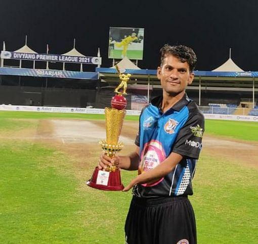 Ujjain: City's cricketer shines at Divyang Premier League