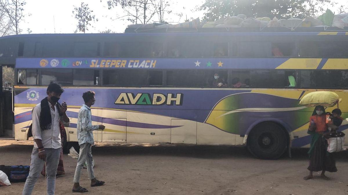 Madhya Pradesh: Bus from Gujarat seized in Alirajpur as crew fails to furnish permit