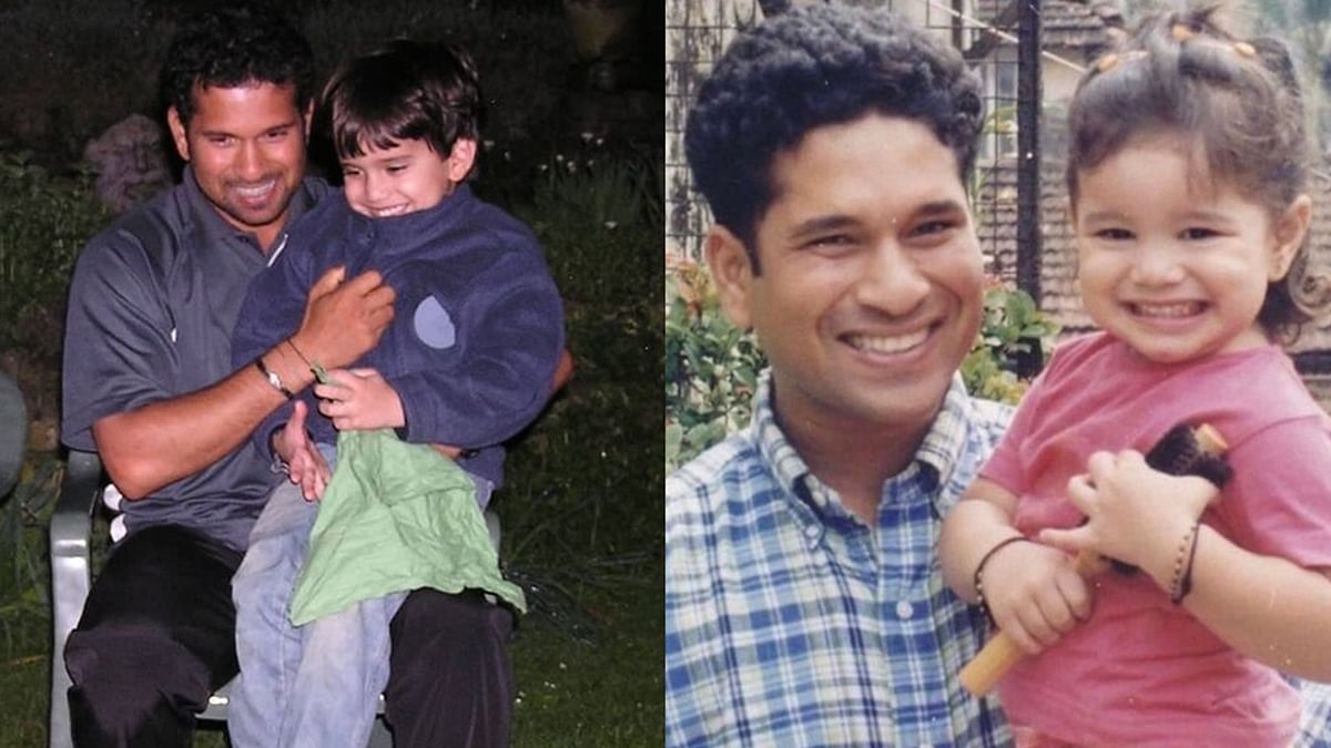 Sachin Tendulkar Birthday Special: Doting daddy moments with his kids Arjun and Sara