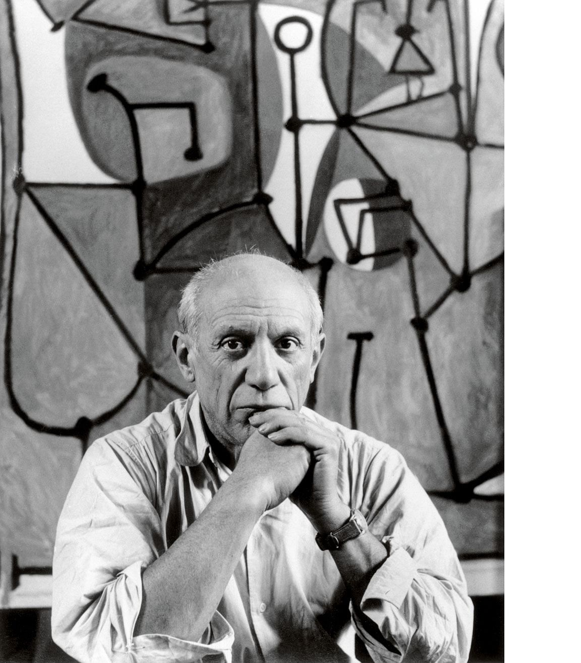 Picasso painted with an indefatigable energy till late into the night before he died the next day at the age of 91