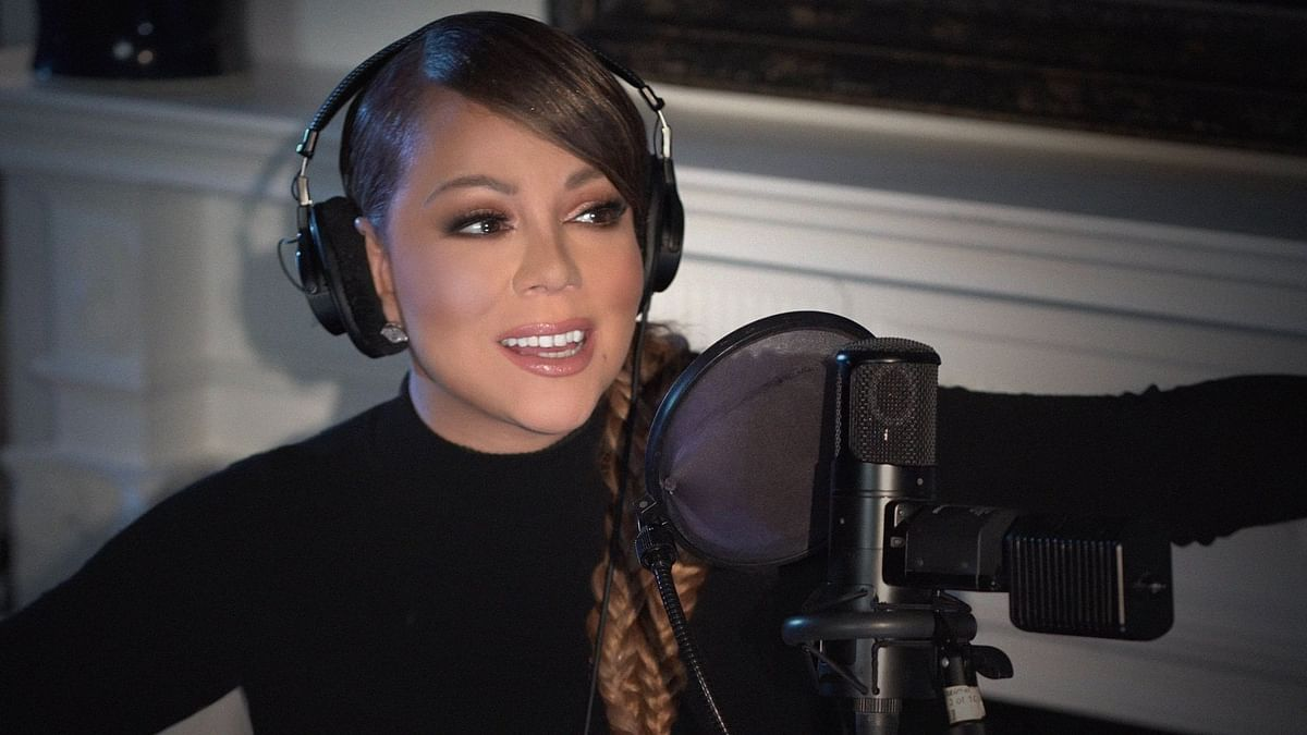 Watch: Mariah Carey lets out a 'high note' while getting vaccinated for COVID-19