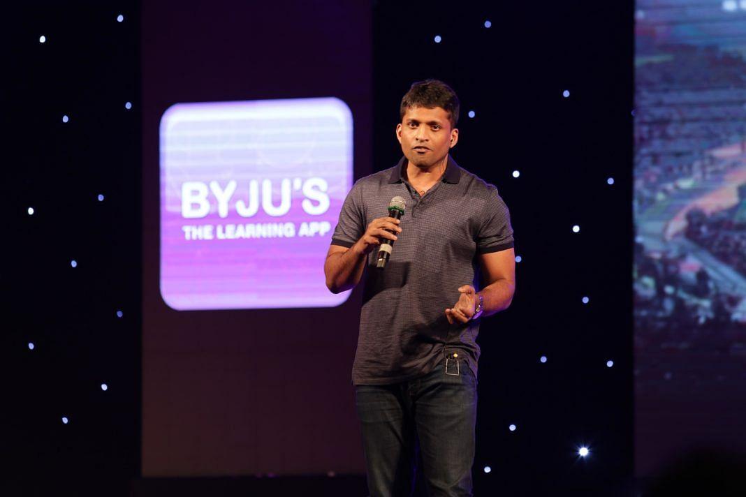 Co-founder Byju Raveendran