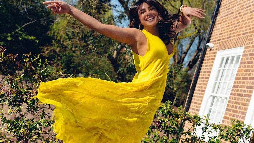 Priyanka Chopra sends 'virtual hug' for fans amid the grim COVID-19 situation