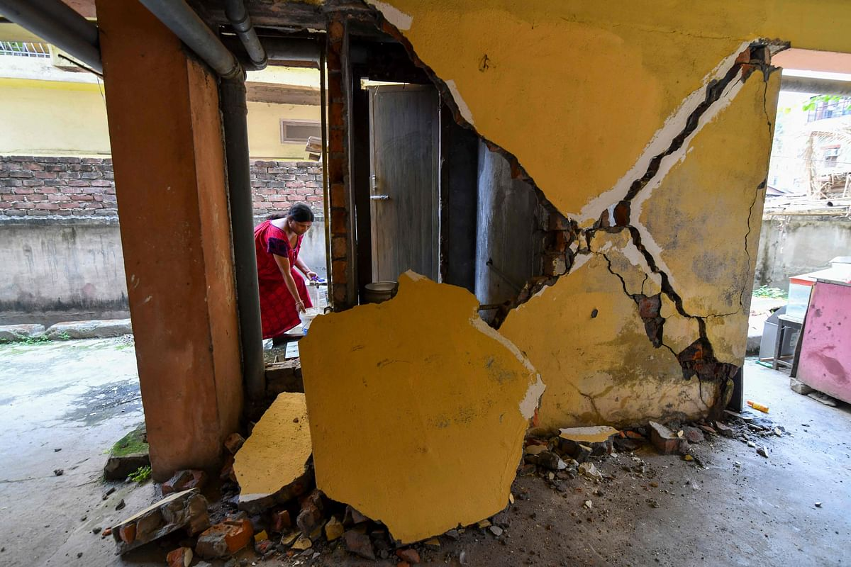 Boy rescued after wall of house collapses in Mumbai's Dahisar
