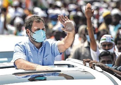 Rahul slams BJP over attack on farm leader