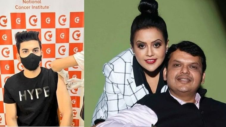 'No one is above law': Amruta, Devendra Fadnavis react after 'distant relative' Tanmay gets COVID-19 vaccine jab