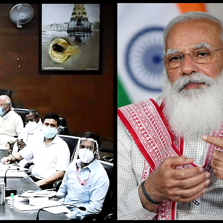 PM Modi reviews COVID-19 situation in Varanasi, stresses on 'test, track, treat' strategy