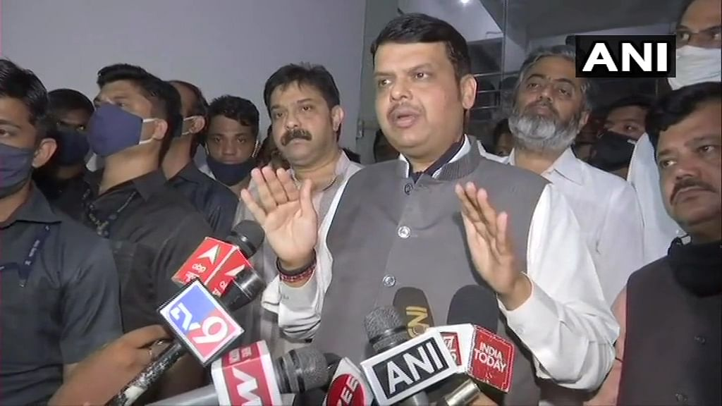 COVID-19 in Mumbai: Devendra Fadnavis accuses Maharashtra police of harassing Remdesivir supplier