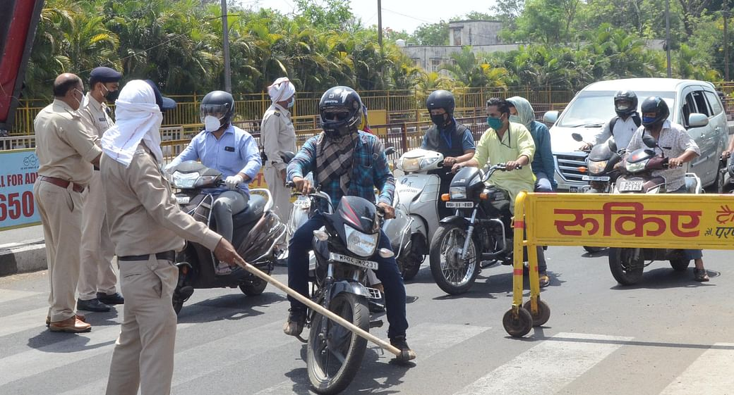 Bhopal: Challenge for cops to control loiterers from May 1 once adult  vaccination starts