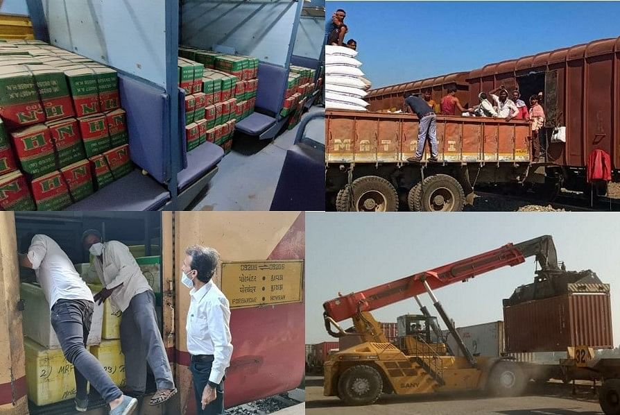 Western Railway achieves various milestones in freight loading in the year 2020 – 21