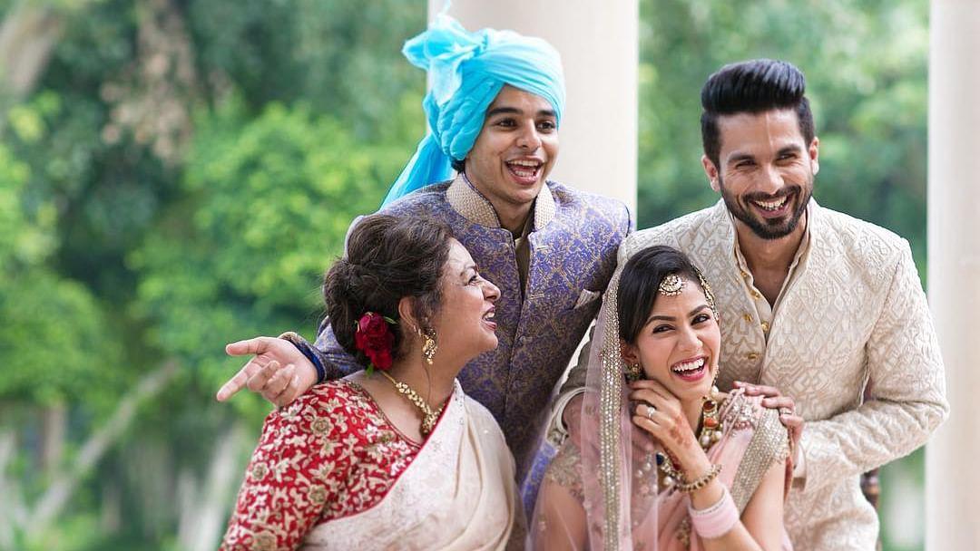 Ishaan Khatter shares hilarious 'Instagram Vs Reality' video featuring mom Neelima Azeem, Shahid Kapoor reacts