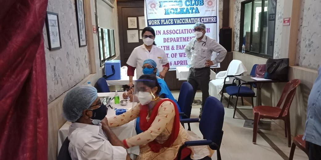 COVID-19 in West Bengal: Kolkata Press Club starts vaccination drive for journalists