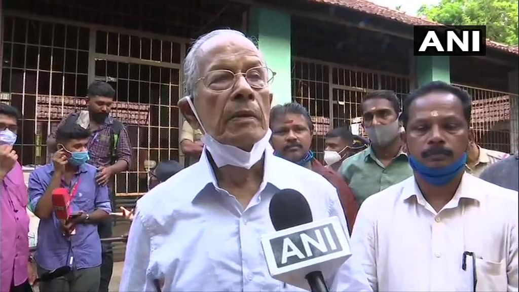 Kerala Assembly Elections 2021: 'Metroman' E Sreedharan casts his vote, says 'BJP will have impressive show'