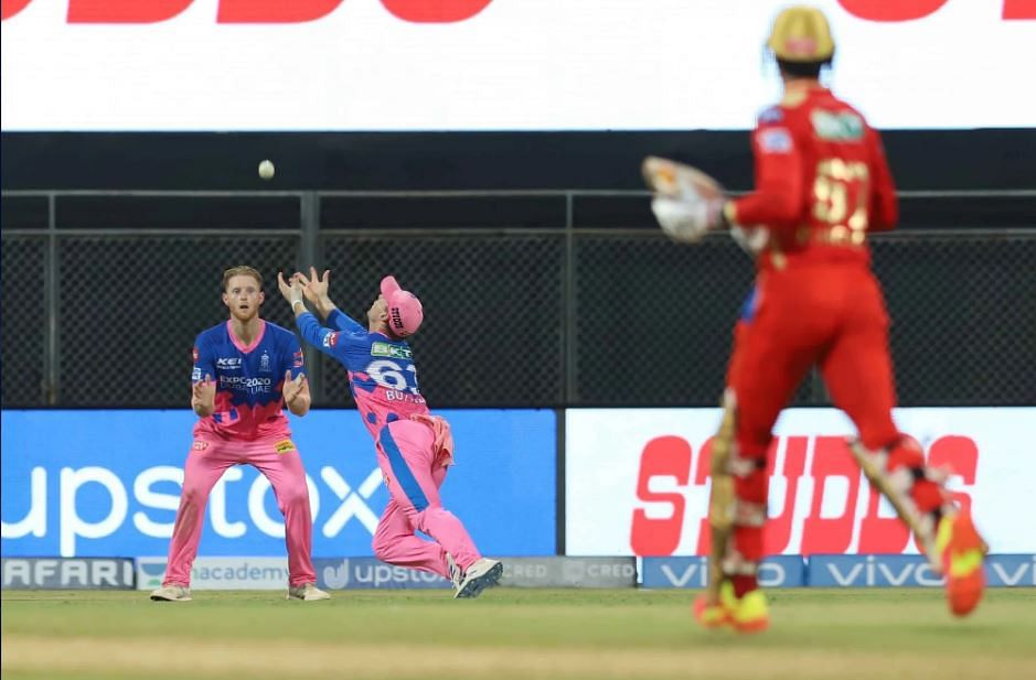 IPL 2021 Live Score: RR vs PBKS - PBKS 220-5 in 19.2 overs; KL Rahul departs after well-made 91; debutant Sakariya claims Mayank Agarwal for his first IPL wicket