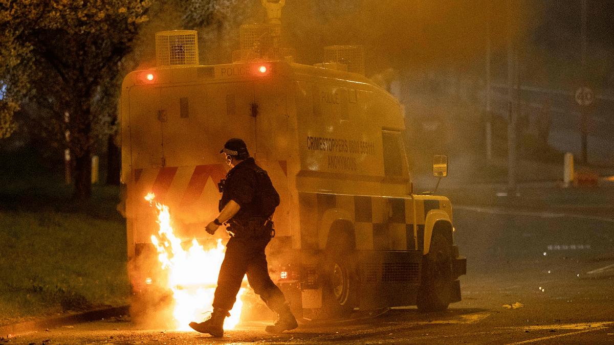 Northern Ireland police appeal for calm after violent unrest