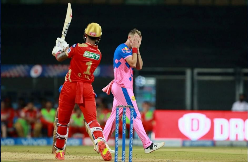 IPL 2021 Live Score: RR vs PBKS - RR 17-1 in 2 overs; Shami removes Stokes for duck in first over; KL Rahul anchors Punjab Kings with well-made 91; debutant Sakariya impresses with the ball