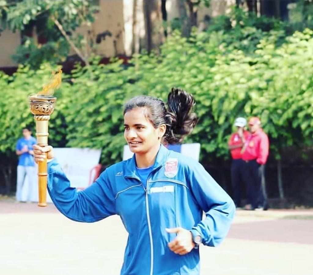 SWR's athlete AT Daneshwari qualifies for world athletics relays team