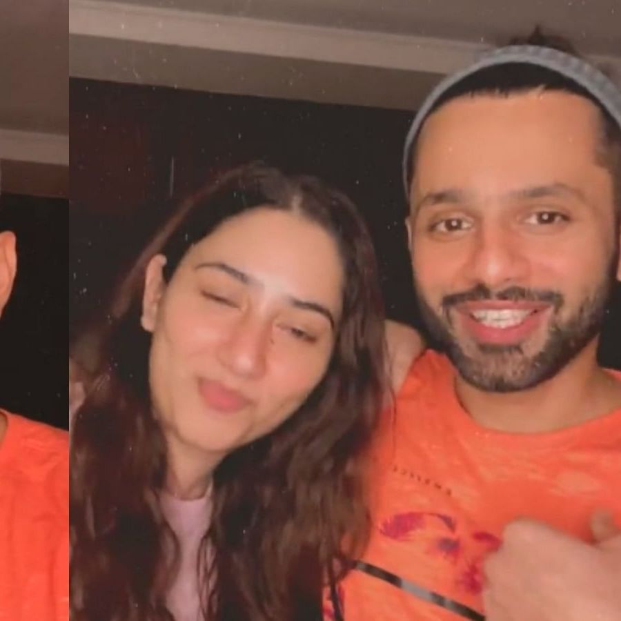 'Does Disha ever go home?': Fan questions Rahul Vaidya's midnight LIVE on Instagram, check out his response
